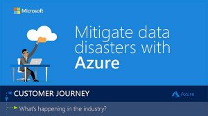 Mitigate Data Disasters with Azure – Infographic