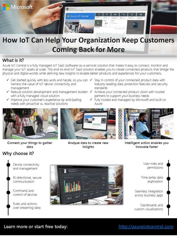 How IoT Can Help Your Organization Keep Customers Coming Back for More