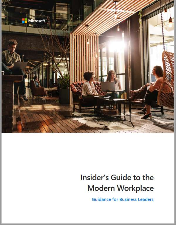 The insider's guide to the modern workplace